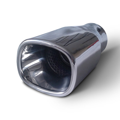 Mirror Polished 316 Grade Stainless Steel Weld On Tail Pipe for 57mm
