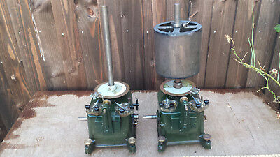 2 X Vintage C.f Palmer London Kymograph Recording Drums - Steampunk - Industrial