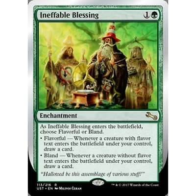 MTG UNSTABLE * Ineffable Blessing