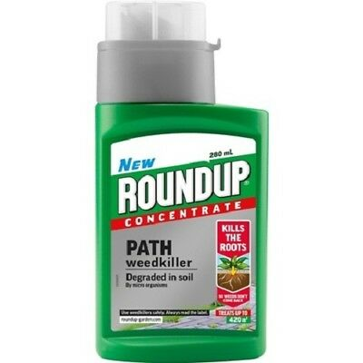 round up path and drive weedkiller 280ml free postage