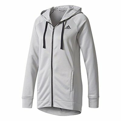 (TG. Small) adidas PES Hoody&Tight, Calzemaglie Donna (Grigio/Nero), (D6i)