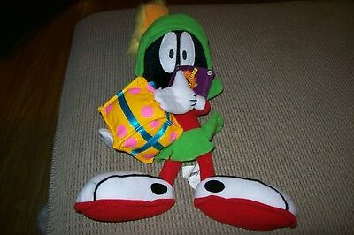 Looney Tunes Marvin the Martian Stuffed Plush Gift w/ Tag Nanco Warner Brothers