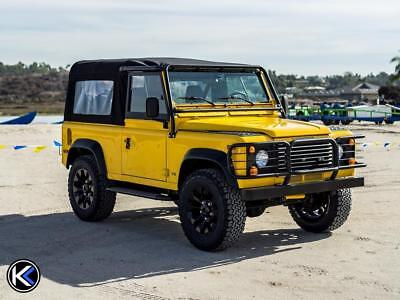 1997 Land Rover Defender 90 2dr 90 1997 Land Rover Defender 90 New Soft Top Only 43k Miles Amazing Condition D90