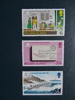 Pitcairn Islands 1974    SG 152-154   Set  MNH