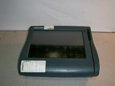 Micros WorkStation 4 System Unit 500614-001 w/Touch Screen RESIDUE ON SCREEN