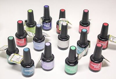 CND Creative Play GEL + NAIL POLISH Matching Colors Combo 2ct/pk