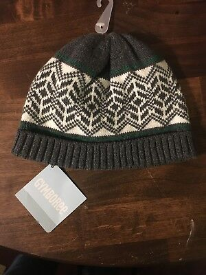 BABY Gap Boy Or Girl Cream Cable Knit Toboggan Hat 12-18 Months ...