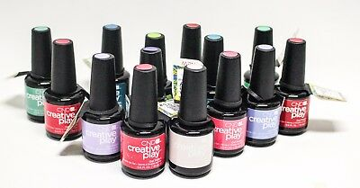 CND Nails Creative Play GEL POLISH - YOUR CHOICE! .5oz.15mL