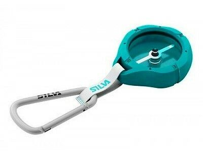 Silva Metro Compass with carabiner - Turquoise