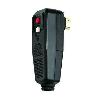 Tower Manufacturing 30434009 User Attachable GFCI Plug, Black