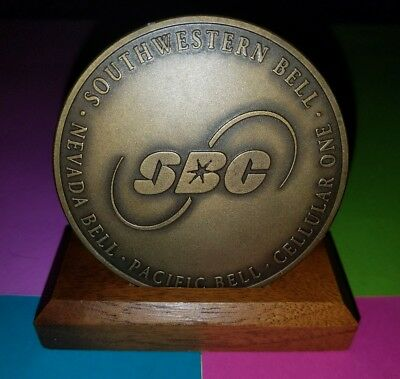 '97 SBC☎Southwestern Bell Award Pacific/Nevada Bell ☎Cellular One ☎ Bronze Coin