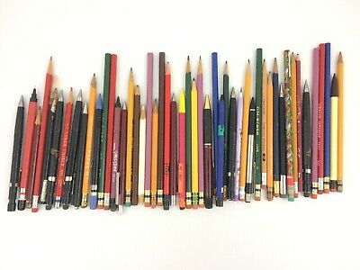 Lot 40+ Vtg Pencil Mechanical Skilcraft US Government col-erase Venus E Faber