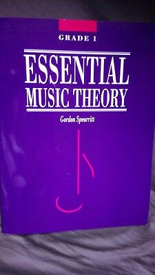 Essential Music Theory by Gordon Spearritt Grade 1