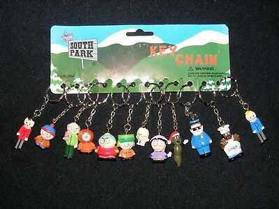 Rare 12 Pc South Park Key Chain Set Nwt Comedy Central 1998 Fun 4 All Corp