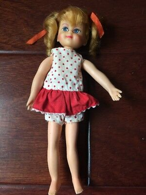 "Vintage 1967 Buffy Doll 6"" Family Affair Mrs Beasley Mr French Jody"
