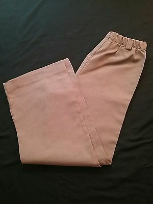Vintage GIRL SCOUTS BROWNIES 1960s 1970s girl 5 pants outfit uniform radiant USA