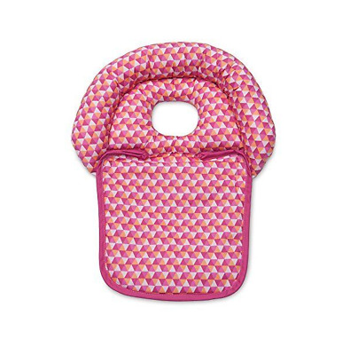 Boppy Noggin Nest Head Support Tiny Triangles, Pink New