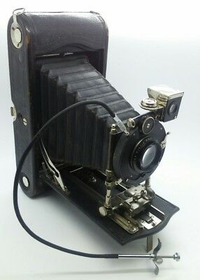 VINTAGE No.3A Special KODAK Model A BIG folding camera w/f5.3 Carl Zeiss Lens