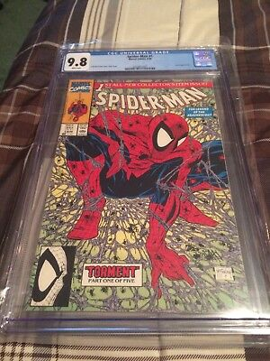 Cgc 9.8 Spiderman #1 Mcfarlane