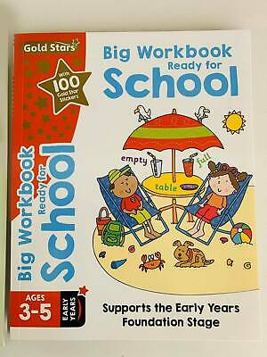 writing phonics starting to count add & maths gold stars set of 5 books ages 3-5