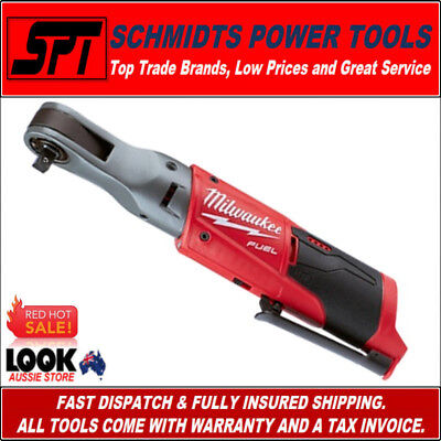 "Milwaukee M12Fir38-0 M12 12V Fuel Cordless Ratchet 3/8"" Drive 12 Volt Bare Tool"