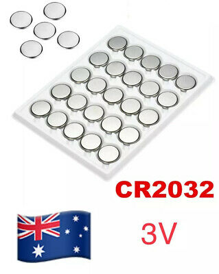 5 X CR2032 3v Lithium Cell Button Battery 🇦🇺