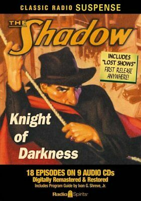 The Shadow Knight of Darkness by Orson Welles 9781570198724 (CD-Audio, 2008)