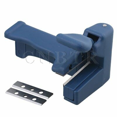 Edge Banding End Trimmer Portable Woodworking Tool Dark Blue