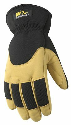 Mens Insulated Winter Work Gloves, Very Warm 100gram Thinsulate, Ultra Comfort,