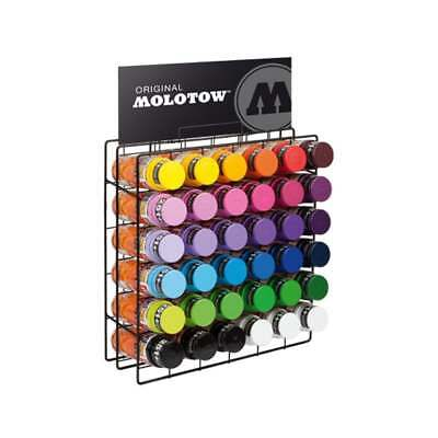 Molotow Spray Paint Rack - Supplied With 36 x 400ml Molotow Premium Cans