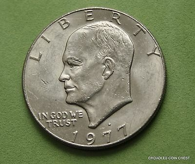 1977d EISENHOWER CIRCULATED LARGE DOLLAR UNITED STATES OF AMERICA #IRF60