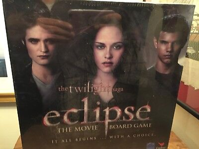 The Twilight Saga Eclipse The Movie Board Game Family Fun Brand New Sealed