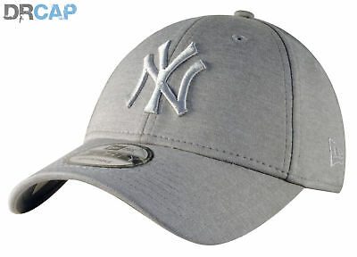 2df125f7ec879 New Era NY Yankees Jersey Heather 9Forty Grey adjustable strapback Baseball  Cap