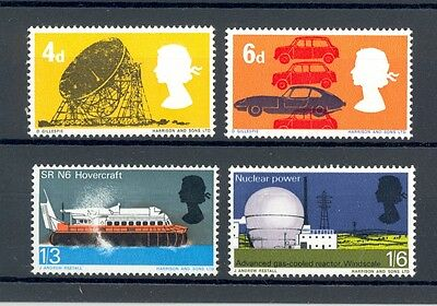 GB 1966 British Technology, full set (Ord), MNH, lovely condition, SG 701-704.