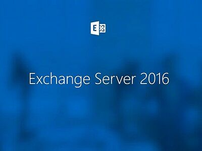 Microsoft Exchange Server 2016 Standard User CAL, kommerzielle Volumenlizenz
