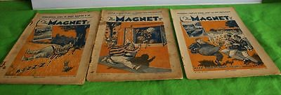 The Magnet Comic Three Issues 1933 Billy Bunter Originals
