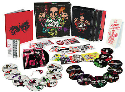 SHOCK AND GORE The Films Of Herschell Gordon Lewis H.G. HG Blu Ray BLOOD FEAST