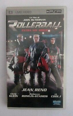 Umd Video Film Per Sony Playstation Portable Psp Rollerball Usato Come Nuovo
