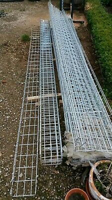 Marco STEEL CABLE BASKET TRAYS 20cm wide x 3 meter lengths  x 5