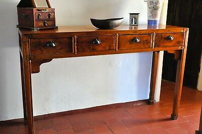 Stunning Antique Chinese Console Table - C.19 - 137cm long