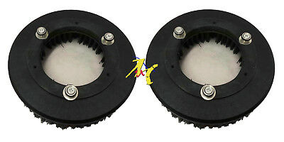 T3 Tennant Scrubber Dryer Poly Twin Scrubbing Brushes (Set of 2)  25cm