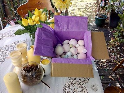 Box  1.6Kg Bath Bombs Mishaped  Damaged Great Smell  Donation  Cancer Research