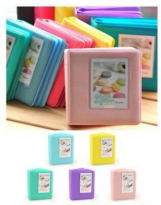 Polaroid FujiFilm Camera Photo Film Instax Mini Album Case 64 Pockets