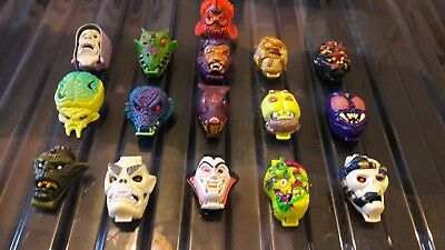 Mighty Max - Shrunken Heads - All 16. COMPLETE