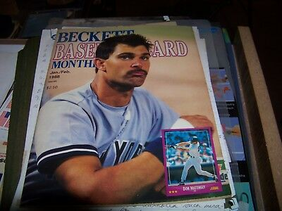 Set of 1988 Beckett Baseball Card Magazines
