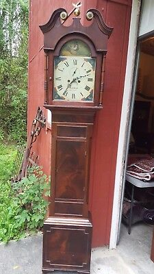 Antique Irish Tall Case / Grandfather Clock c. 1830
