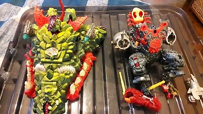 Mighty Max Dragon island Play Set 1993 Bluebird Vintage Toy and magus