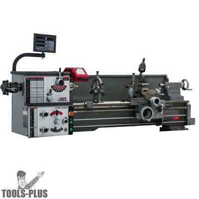JET 321127 GHB-1340A Metalworking Lathe w/ Taper Attachment + Collet Closer New