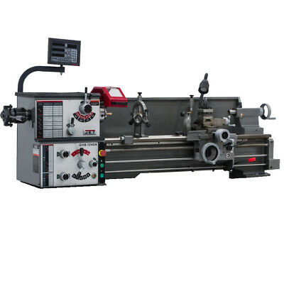 JET 321103 GHB-1340A Geared Head Bench Lathes w/ACU-RITE VUE DRO New