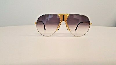 Vintage Boeing Carrera Aviator 5701 41 LARGE Gold MADE IN AUSTRIA